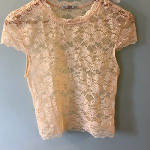Sheer camisole
